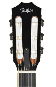 Taylor 814-N Acoustic Guitar headstock front close