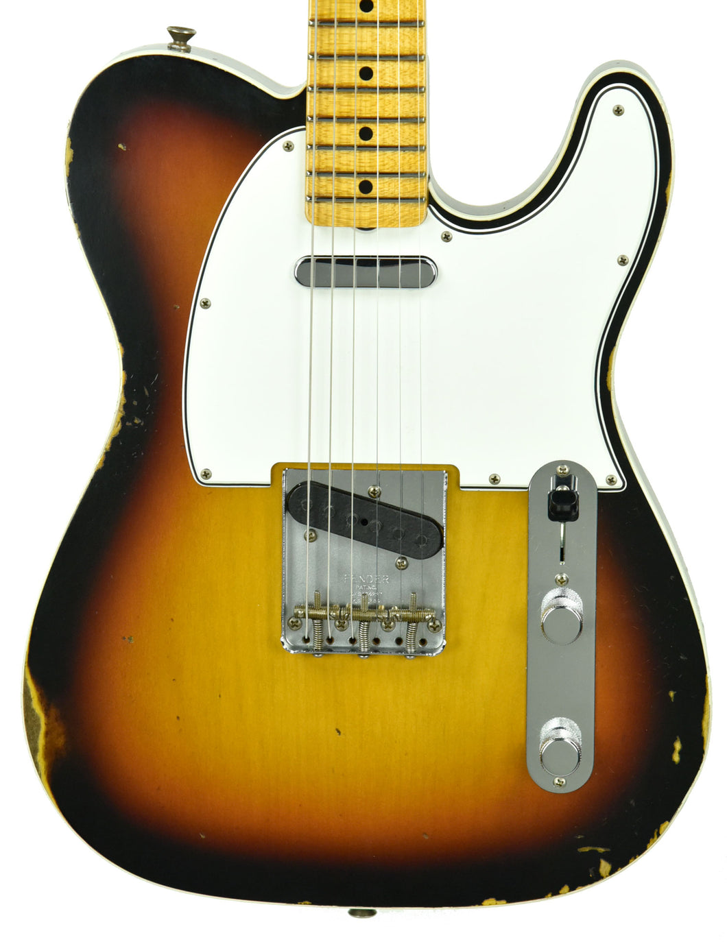 Fender Custom Shop 65 Custom Telecaster Relic | The Music Gallery | Front Close