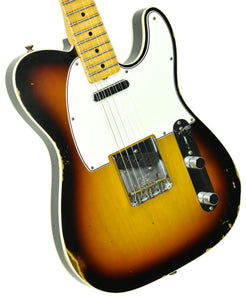 Fender Custom Shop 65 Custom Telecaster Relic | The Music Gallery | Front Angle 2