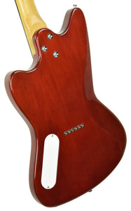 Harmony Silhouette Flame Maple in Transparent Red 0201740 - The Music Gallery
