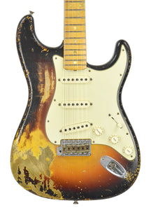 Fender® Custom Shop Paul Waller Masterbuilt 1969 Heavy Relic Strat | Front