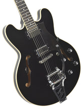 Used Heritage H535 Ebony w/OHSC AI32401 - The Music Gallery