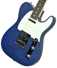 Used Fender Custom Shop Custom Deluxe Telecaster in Trans Cobalt Blue R79693 - The Music Gallery