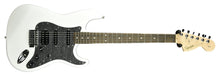 Squier Affinity Series™ Stratocaster® HSS in Olympic White CYKH20004640 - The Music Gallery