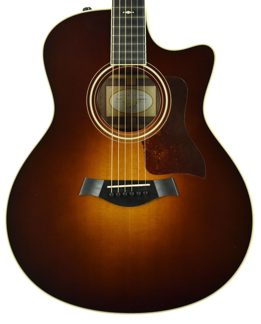 Used Taylor 716ce Cedar Acoustic Electric in Sunburst 1105073092 - The Music Gallery