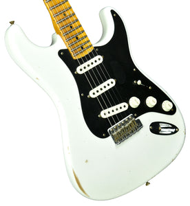 Fender Custom Shop Ancho Poblano Stratocaster Relic in Opaque White Blonde CZ544942