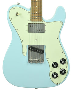 Fender Guitars Vintera 70s Telecaster Custom in Sonic Blue MX19166419