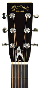 Martin Elvis Presley Signature Acoustic Guitar | Headstock Front