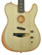Fender American Acoustasonic Telecaster in Sonic Gray US197475 - The Music Gallery