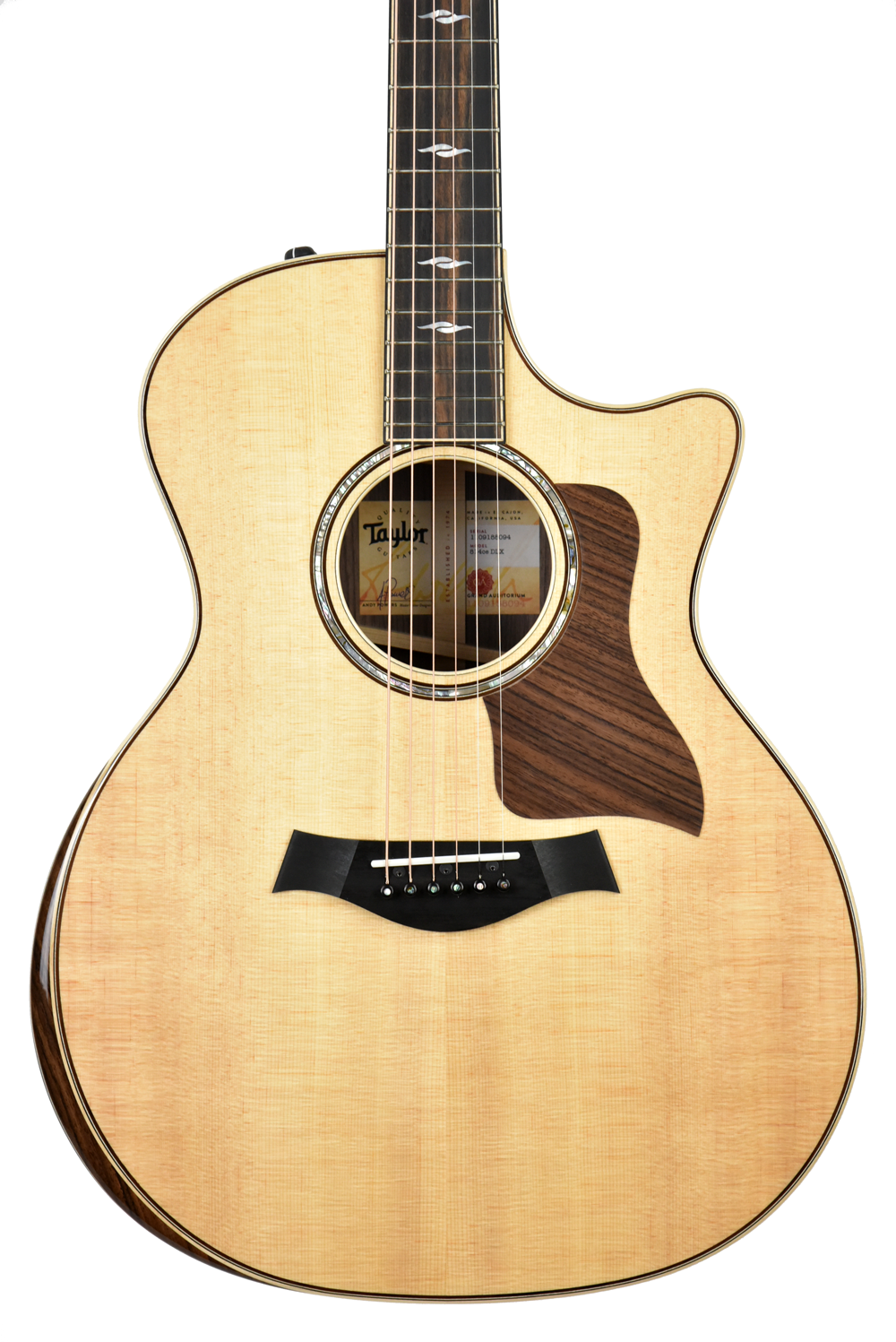 Taylor 814CE Deluxe V Class Bracing w/OHSC 1109188094