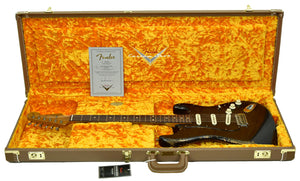 Used Fender Limited Edition Shortboard Mustang | Headstock Front