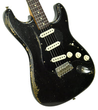 Fender Custom Shop 1962 Stratocaster Relic Masterbuilt by Dale Wilson in Black CZ543724 - The Music Gallery