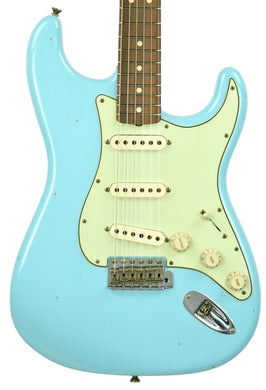 Fender Custom Shop 1963 Stratocaster Journeyman Relic in Daphne Blue R101367