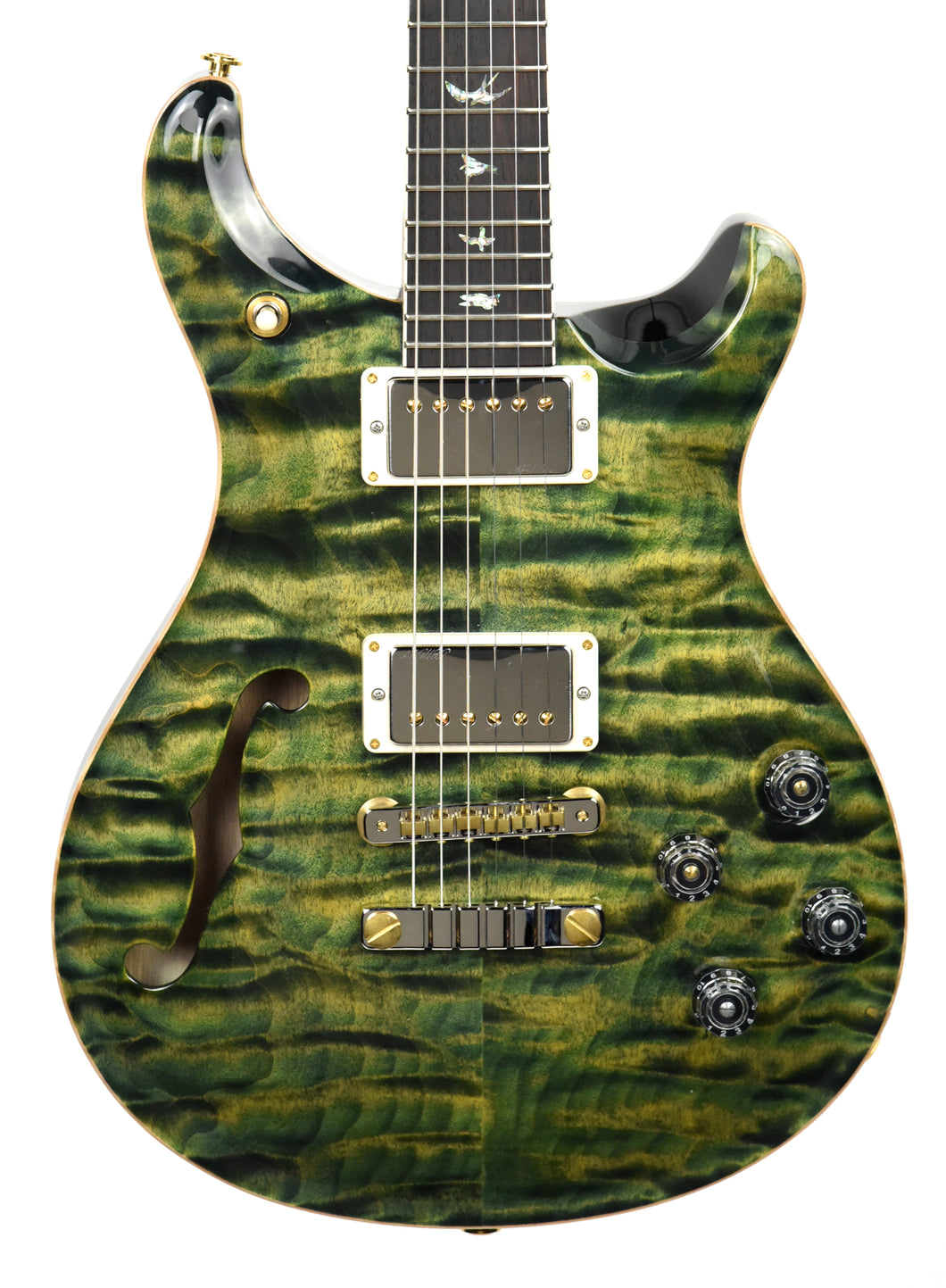 PRS Wood Library McCarty Semi Hollow 594 Leprechaun Tooth | Front