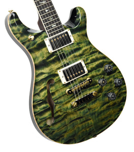 PRS Wood Library McCarty Semi Hollow 594 Leprechaun Tooth | Front Left