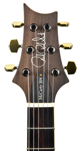 PRS Wood Library McCarty Semi Hollow 594 Leprechaun Tooth | Headstock Front