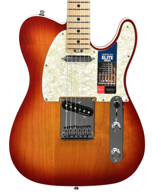 Fender American Elite Telecaster in Aged Cherry Sunburst SN US18064767
