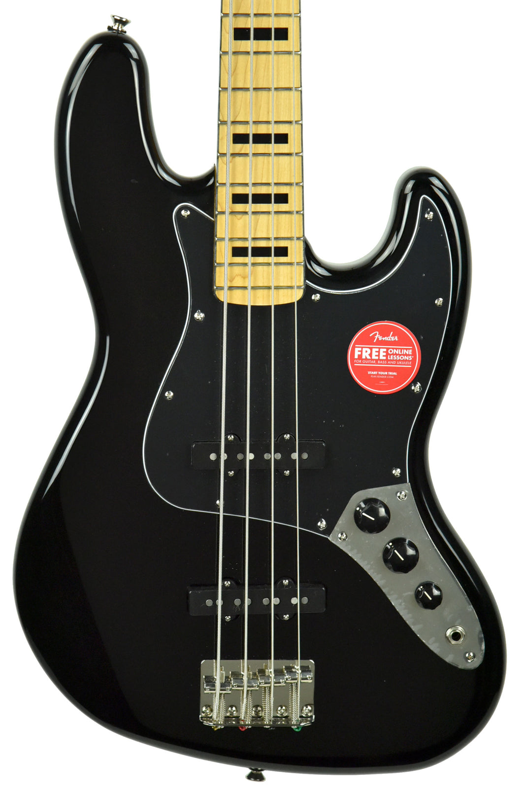 Squier Classic Vibe 70s Jazz Bass in Black ICS19226948