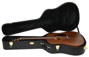 Martin D-15M Acoustic Guitar | Case Open