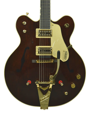 Gretsch G6122T-62GE Vintage Select Country Gentleman Walnut Stain w/ Bigsby | the Music Gallery | Front Close