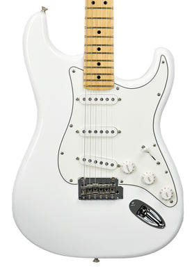 Fender Player Stratocaster Electric Guitar in Polar White MX18130099