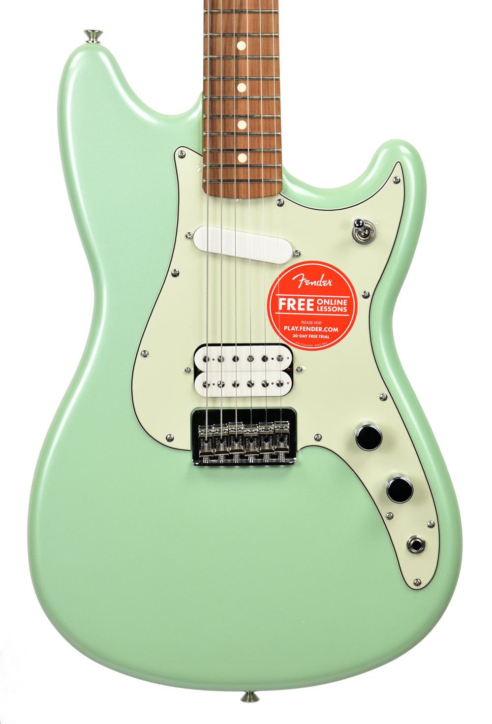 Fender Duo-Sonic™ HS in Surf Pearl MX18033832 - The Music Gallery
