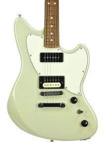 Fender The Powercaster in White Opal