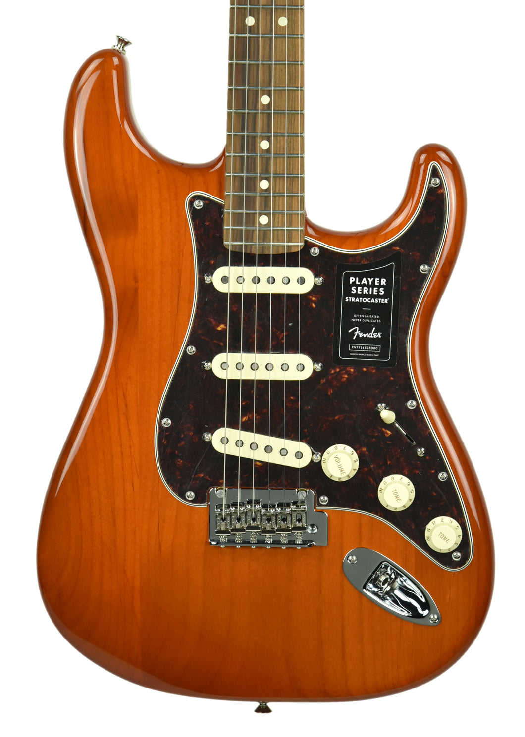 Fender Player Stratocaster Limited Edition in Aged Natural MX19203640