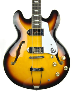 Used Epiphone Casino in Vintage Sunburst 15061501398 - The Music Gallery