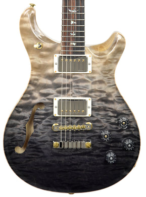 PRS Wood Library McCarty 594 Semi Hollow in Grey Black Fade | Front
