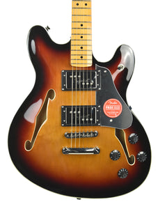 Squier Classic Vibe Starcaster in 3 Color Sunburst ISS197633 - The Music Gallery