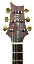 PRS Wood Library McCarty 594 Semi Hollow in Grey Black Fade | Headstock Front