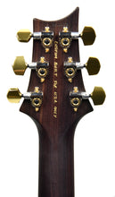 PRS Wood Library McCarty 594 Semi Hollow in Grey Black Fade | Headstock Back