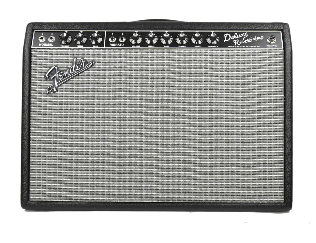 Used Fender '65 Deluxe Reverb 1x12 Combo Amplifier  AC0134895