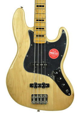 Squier Classic Vibe 70s Jazz Bass in Natural ICS19327392