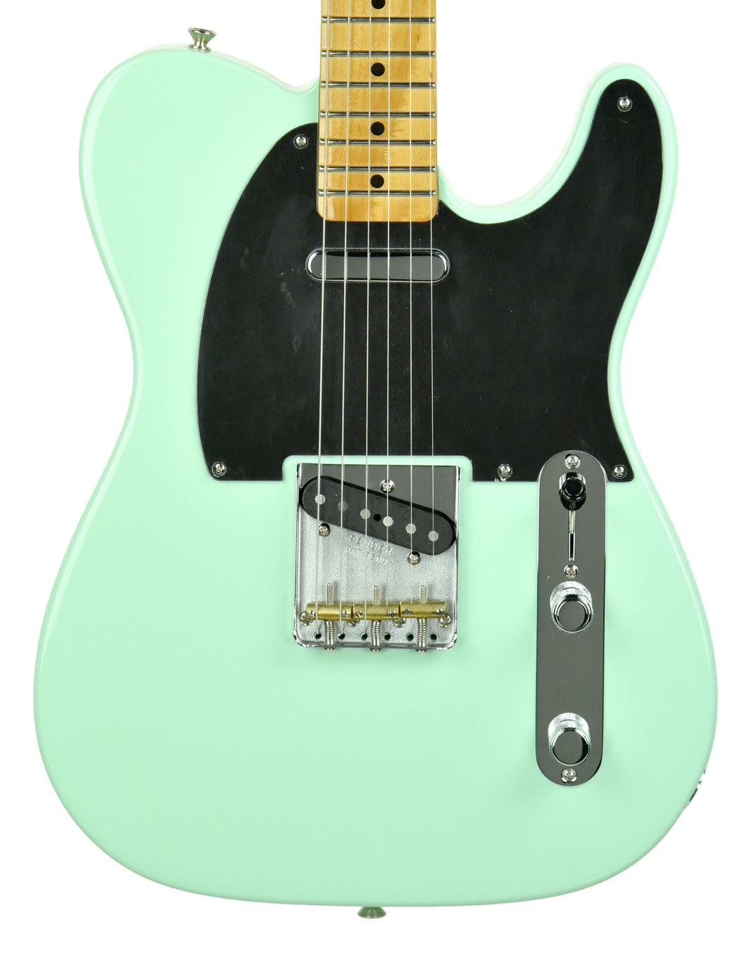 Fender Vintera '50s Telecaster Modified in Surf Green MX19160797 - The Music Gallery