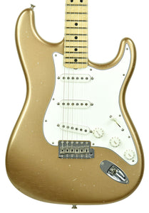 Used Fender Custom Shop Builder's Select 69 Strat Relic Masterbuilt by Greg Fessler in Firemist Gold Metallic R84024 - The Music Gallery