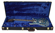 PRS Wood Library McCarty 594 Semi Hollow in River Blue | Case Open | The Music Gallery