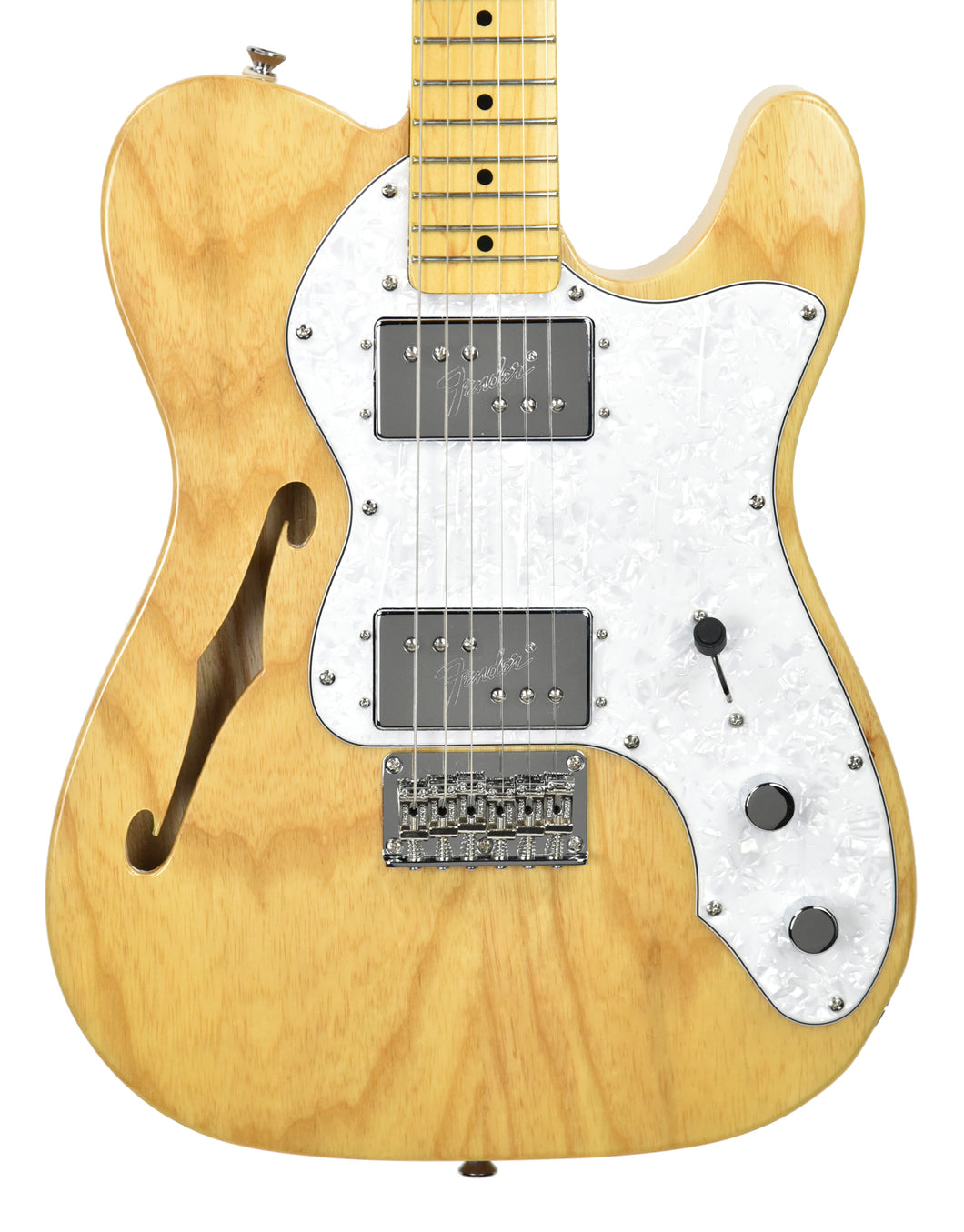 Squier® Vintage Modified Thinline Telecaster in Natural | Front
