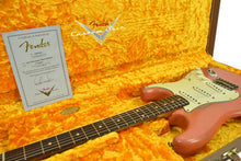 Fender Custom Shop 1962 Stratocaster Relic Masterbuilt by Dale Wilson in Salmon Pink CZ543831