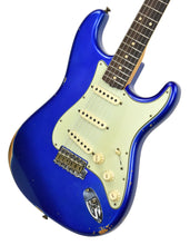 Fender Custom Shop 1961 Stratocaster Relic in Cobalt Blue Metallic | Front Right