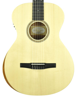 Taylor Academy 12e-N Nylon Acoustic Guitar in Natural 2112099500 - The Music Gallery