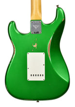 Fender Custom Shop 1961 Stratocaster Relic in Candy Apple Green | Back Close | The Music Gallery