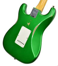 Fender Custom Shop 1961 Stratocaster Relic in Candy Apple Green | Back Right | The Music Gallery