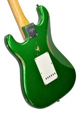 Fender Custom Shop 1961 Stratocaster Relic in Candy Apple Green | Back Left | The Music Gallery