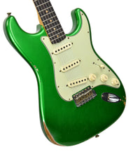 Fender Custom Shop 1961 Stratocaster Relic in Candy Apple Green | Front Left | The Music Gallery