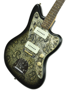 Fender Custom Shop 2019 LTD Jazzmaster in Black Paisley CZ545043 - The Music Gallery
