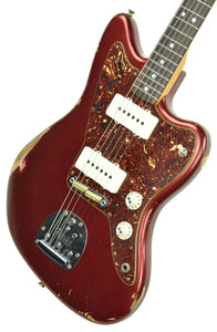 Fender Custom Shop LTD 65 Jazzmaster Journeyman Relic in Aged Firemist Red CZ545625