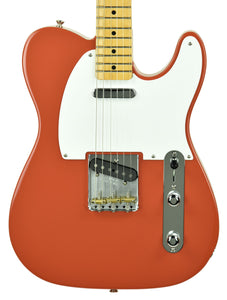 Fender Vintera 50s Telecaster Fiesta Red MX19204436 - The Music Gallery