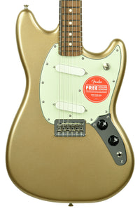 Fender Player Mustang in Firemist Gold MX19185758 - The Music Gallery